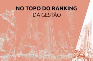 No topo do ranking da gestão