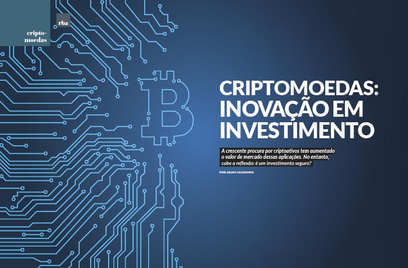 Criptomoedas: inovação em investimento
