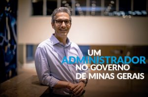 Um administrador no governo de Minas Gerais